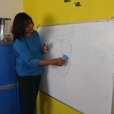 volunteered to teach