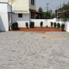 Receiving Area and Organic Garden