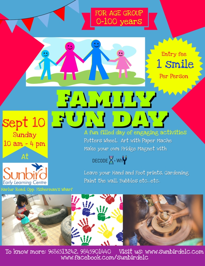 Family Fun day Template social