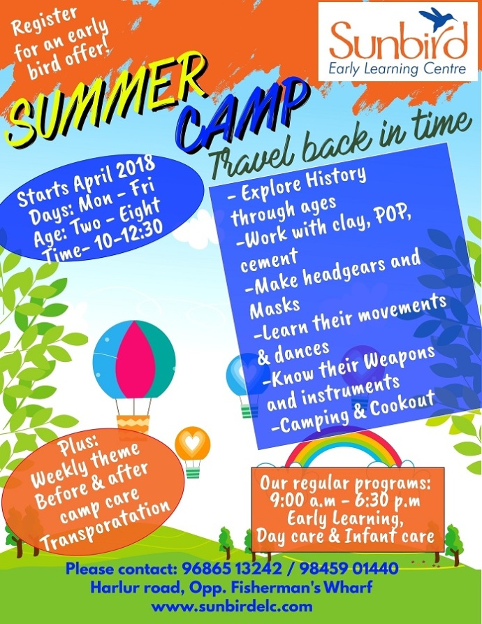 Copy of Summer Camp Flyer Template 2